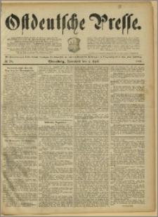 Ostdeutsche Presse. J. 15, 1891, nr 78