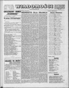 Wiadomości, R. 10 nr 50 (506), 1955