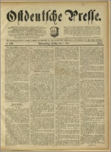 Ostdeutsche Presse. J. 15, 1891, nr 100