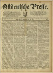 Ostdeutsche Presse. J. 15, 1891, nr 139