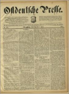 Ostdeutsche Presse. J. 15, 1891, nr 155
