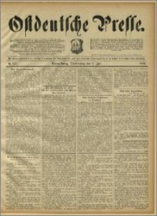 Ostdeutsche Presse. J. 15, 1891, nr 157