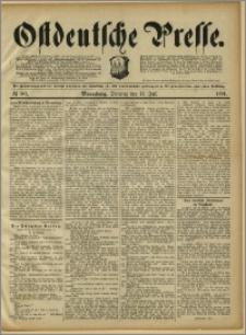 Ostdeutsche Presse. J. 15, 1891, nr 161