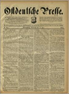 Ostdeutsche Presse. J. 15, 1891, nr 162