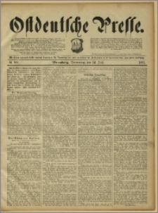 Ostdeutsche Presse. J. 15, 1891, nr 163
