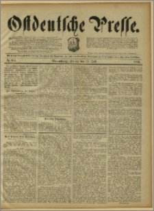 Ostdeutsche Presse. J. 15, 1891, nr 164