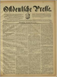 Ostdeutsche Presse. J. 15, 1891, nr 167