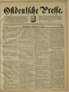 Ostdeutsche Presse. J. 15, 1891, nr 168