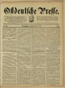Ostdeutsche Presse. J. 15, 1891, nr 170