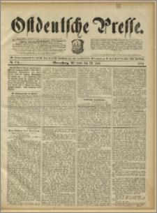 Ostdeutsche Presse. J. 15, 1891, nr 174