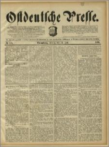 Ostdeutsche Presse. J. 15, 1891, nr 176