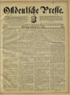 Ostdeutsche Presse. J. 15, 1891, nr 177