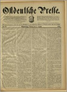 Ostdeutsche Presse. J. 15, 1891, nr 178