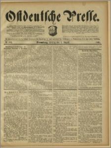Ostdeutsche Presse. J. 15, 1891, nr 182