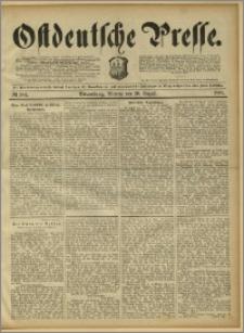 Ostdeutsche Presse. J. 15, 1891, nr 184
