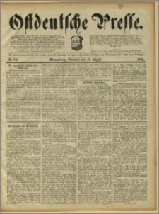 Ostdeutsche Presse. J. 15, 1891, nr 186