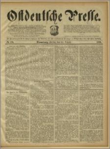 Ostdeutsche Presse. J. 15, 1891, nr 188