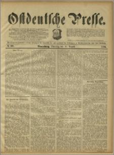 Ostdeutsche Presse. J. 15, 1891, nr 191