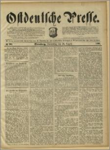 Ostdeutsche Presse. J. 15, 1891, nr 193