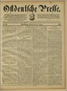 Ostdeutsche Presse. J. 15, 1891, nr 196