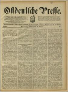 Ostdeutsche Presse. J. 15, 1891, nr 198