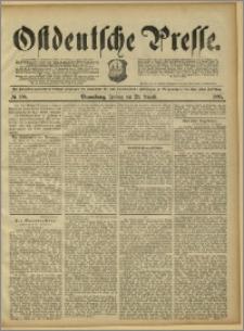 Ostdeutsche Presse. J. 15, 1891, nr 200
