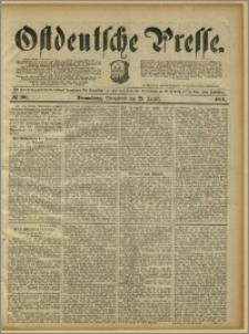 Ostdeutsche Presse. J. 15, 1891, nr 201