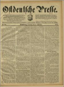 Ostdeutsche Presse. J. 15, 1891, nr 203