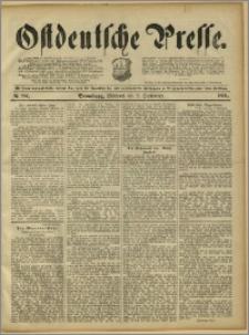 Ostdeutsche Presse. J. 15, 1891, nr 204