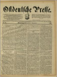 Ostdeutsche Presse. J. 15, 1891, nr 206