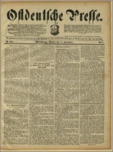 Ostdeutsche Presse. J. 15, 1891, nr 208