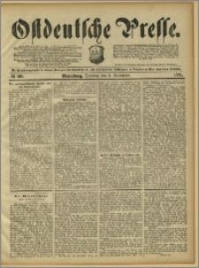 Ostdeutsche Presse. J. 15, 1891, nr 209