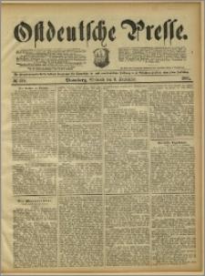 Ostdeutsche Presse. J. 15, 1891, nr 210