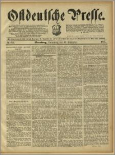 Ostdeutsche Presse. J. 15, 1891, nr 211