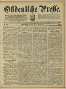 Ostdeutsche Presse. J. 15, 1891, nr 212
