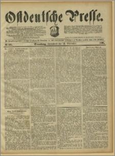Ostdeutsche Presse. J. 15, 1891, nr 213