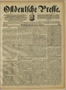 Ostdeutsche Presse. J. 15, 1891, nr 216