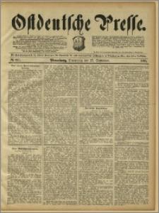 Ostdeutsche Presse. J. 15, 1891, nr 217