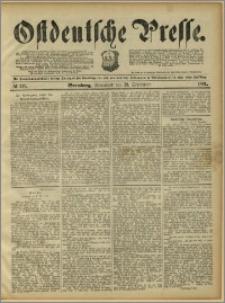 Ostdeutsche Presse. J. 15, 1891, nr 219