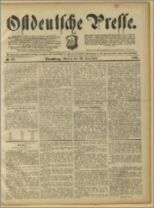 Ostdeutsche Presse. J. 15, 1891, nr 220