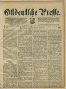 Ostdeutsche Presse. J. 15, 1891, nr 223