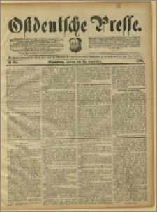 Ostdeutsche Presse. J. 15, 1891, nr 224