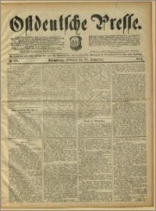 Ostdeutsche Presse. J. 15, 1891, nr 228