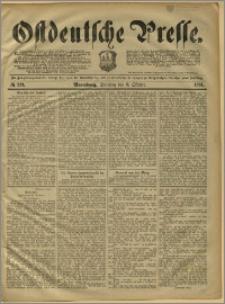 Ostdeutsche Presse. J. 15, 1891, nr 233