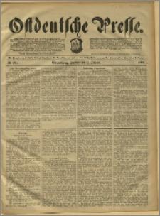 Ostdeutsche Presse. J. 15, 1891, nr 236