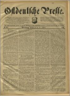 Ostdeutsche Presse. J. 15, 1891, nr 237