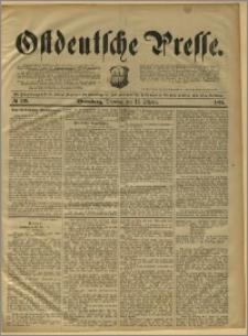 Ostdeutsche Presse. J. 15, 1891, nr 239