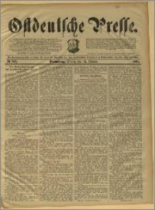 Ostdeutsche Presse. J. 15, 1891, nr 242