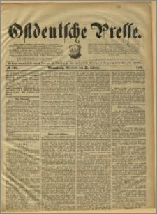 Ostdeutsche Presse. J. 15, 1891, nr 246