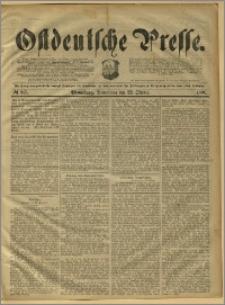Ostdeutsche Presse. J. 15, 1891, nr 247
